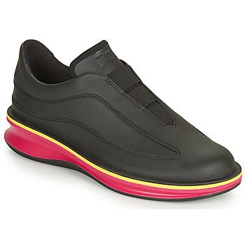 Cipők Női Rövid szárú edzőcipők Camper ROLLING Fekete  / Rózsaszín