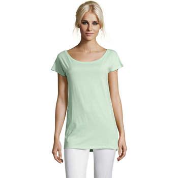 Ruhák Női Rövid ujjú pólók Sols MARYLIN STYLE KIMONO Verde
