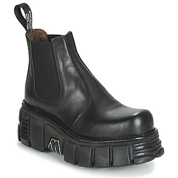 Cipők Női Csizmák New Rock M-1554-C1 Fekete