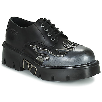 Cipők Férfi Oxford cipők New Rock M-1553-C3 Fekete