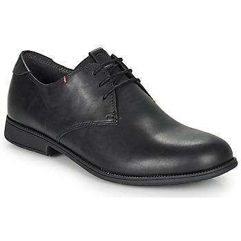Cipők Férfi Oxford cipők Camper MIL3 Fekete
