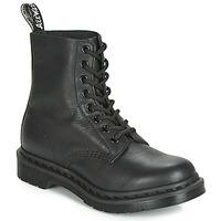 Cipők Női Csizmák Dr Martens 1460 PASCAL MONO Fekete
