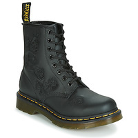 Cipők Női Csizmák Dr Martens 1460 VONDA MONO SOFTY T Fekete