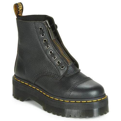 Cipők Női Csizmák Dr Martens SINCLAIR AUNT SALLY Fekete