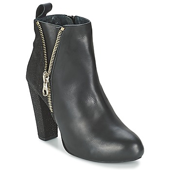Cipők Női Bokacsizmák Shoe Biz RAIA Fekete