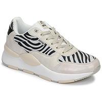 Cipők Női Rövid szárú edzőcipők MTNG 69867-C47433 Fekete  / Fehér