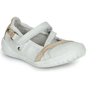 Cipők Lány Balerina cipők  Ramdam BEZIERS Fehér