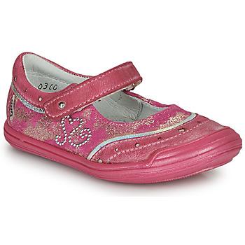Cipők Lány Balerina cipők  GBB ILEANA Rózsaszín
