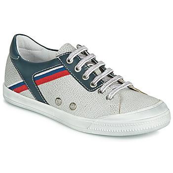 Cipők Fiú Rövid szárú edzőcipők Ramdam KAGOSHIMA Fehér / Kék