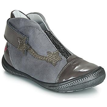 Cipők Lány Csizmák GBB NOLWENN Szürke / Ezüst
