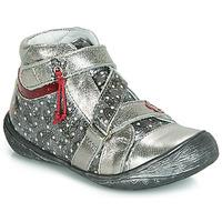 Cipők Lány Csizmák GBB NADETTE Ezüst