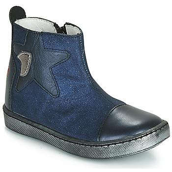 Cipők Lány Csizmák GBB LIAT Tengerész