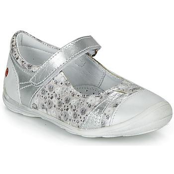 Cipők Lány Balerina cipők  GBB PRINCESSE Ezüst