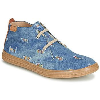 Cipők Lány Magas szárú edzőcipők Achile ANDREA Kék