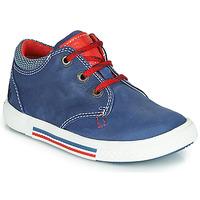 Cipők Fiú Rövid szárú edzőcipők Catimini PALETTE Kék