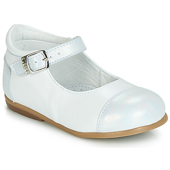 Cipők Lány Balerina cipők / babák GBB BELISTO Fehér