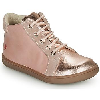 Cipők Lány Magas szárú edzőcipők GBB FAMIA Rózsaszín