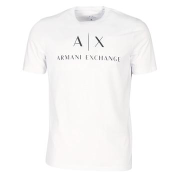 Ruhák Férfi Rövid ujjú pólók Armani Exchange 8NZTCJ-Z8H4Z-1100 Fehér