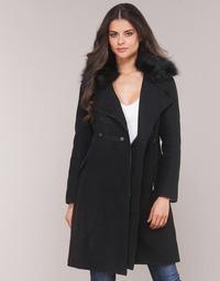 Ruhák Női Kabátok Moony Mood LITELA Fekete