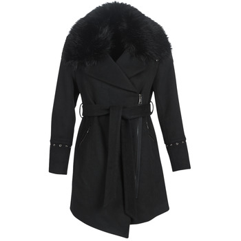 Ruhák Női Kabátok Moony Mood LITEA Fekete