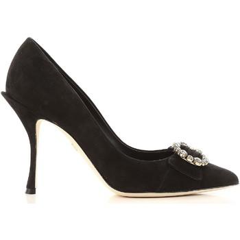 Cipők Női Félcipők D&G CD1072 A1275 80999 nero