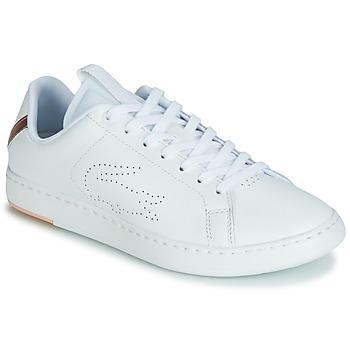Cipők Női Rövid szárú edzőcipők Lacoste CARNABY EVO LIGHT-WT 119 3 Fehér / Rózsaszín