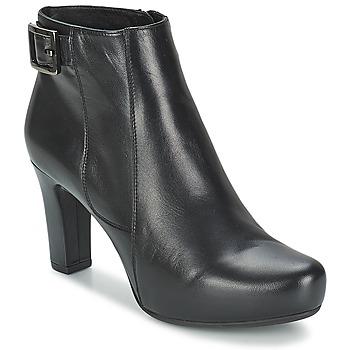 Cipők Női Bokacsizmák Unisa NAPUR Fekete