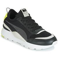 Cipők Férfi Rövid szárú edzőcipők Puma RS-0 CORE Fekete