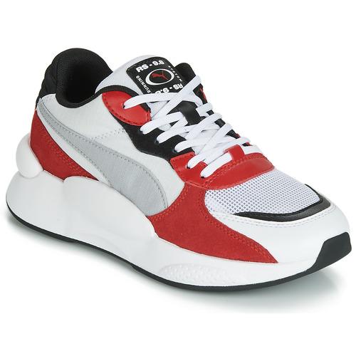 Cipők Gyerek Rövid szárú edzőcipők Puma RS-98 SPACE JUNIOR Fehér / Piros