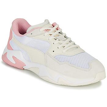Cipők Férfi Rövid szárú edzőcipők Puma STORM ORIGIN PASTEL Fehér