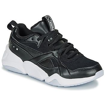 Cipők Női Rövid szárú edzőcipők Puma NOVA 2. W Fekete