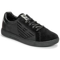 Cipők Férfi Rövid szárú edzőcipők Emporio Armani X4X279-XM035-A085 Fekete