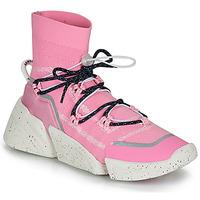 Cipők Női Magas szárú edzőcipők Kenzo K SOCK SLIP ON Rózsaszín