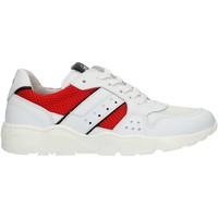 Cipők Fiú Rövid szárú edzőcipők NeroGiardini P933572M White and red