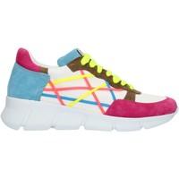 Cipők Női Rövid szárú edzőcipők L4k3 05LEG Blue fuxia