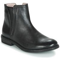 Cipők Lány Csizmák Acebo's 9671-NEGRO-T Fekete