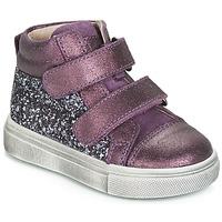 Cipők Lány Magas szárú edzőcipők Acebo's 5299AV-LILA-C Lila