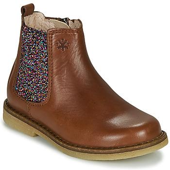 Cipők Lány Csizmák Acebo's 5274-CUERO Barna