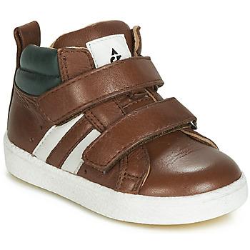 Cipők Fiú Magas szárú edzőcipők Acebo's 3040-CUERO-C Barna