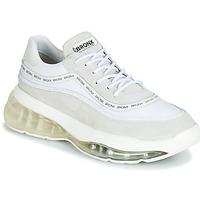 Cipők Női Rövid szárú edzőcipők Bronx BUBBLY Fehér