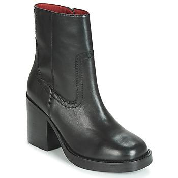 Cipők Női Bokacsizmák Bronx BULA VARD Fekete