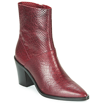 Cipők Női Bokacsizmák Bronx NEW AMERICANA LOW Bordó