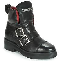 Cipők Női Csizmák Bronx GAMLETT Fekete