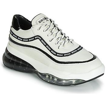 Cipők Női Rövid szárú edzőcipők Bronx BUBBLY Fehér / Fekete