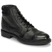 Cipők Férfi Csizmák Base London REPTON Fekete