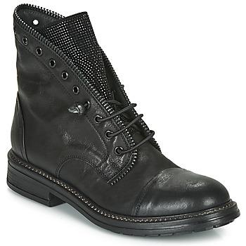 Cipők Női Csizmák Fru.it ADIETE Fekete
