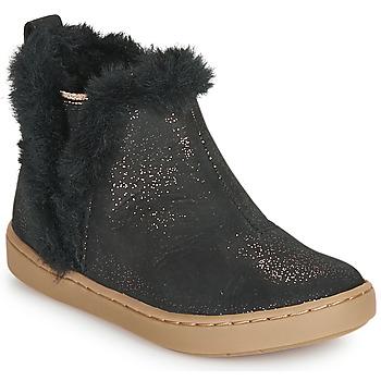 Cipők Lány Csizmák Shoo Pom PLAY YETI Fekete