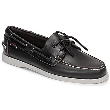 Cipők Férfi Vitorlás cipők Sebago DOCKSIDE PORTLAND Barna