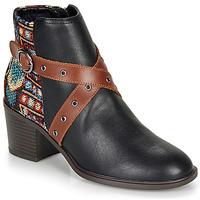 Cipők Női Bokacsizmák Desigual ALASKA TAPESTRY Fekete