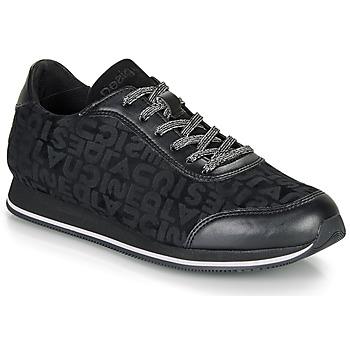 Cipők Női Rövid szárú edzőcipők Desigual PEGASO DESIGUAL Fekete